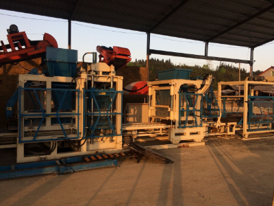 Concrete Solid Brick Machine