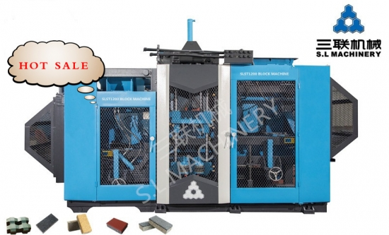 block brick making machine